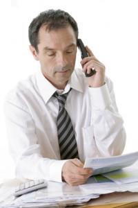 controle fiscal au téléphone